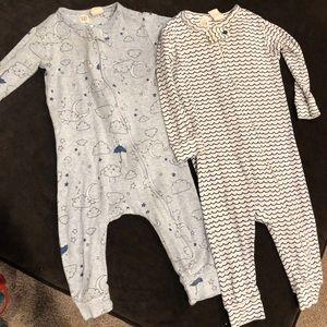 Gap Organic Baby Pajamas